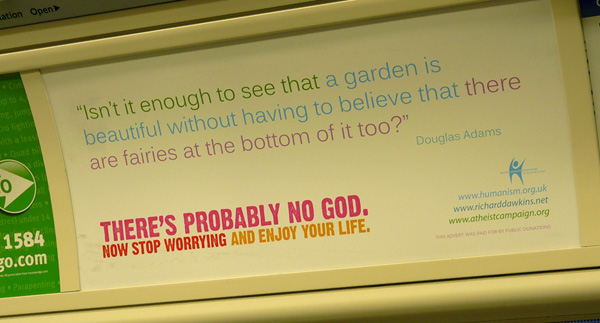 Atheist Tube Advert
